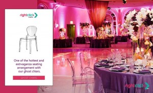 Ghost Chairs Rental Dubai - UAE